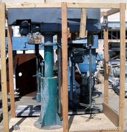 Used- Mooney Slow Speed Disperser.