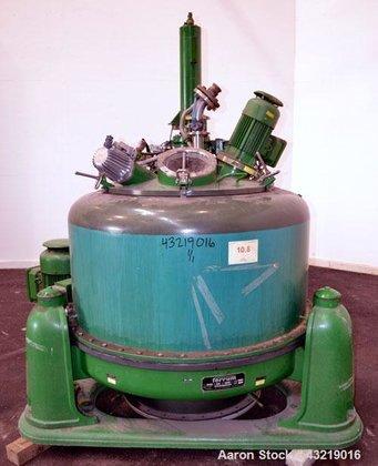 Used- Ferrum AG Basket Centrifuge,