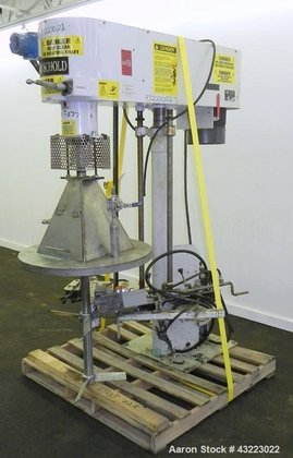 Used- Schold Single Shaft Variable