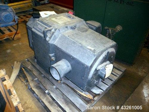 Used- Reliance 200hp DC Motor.No