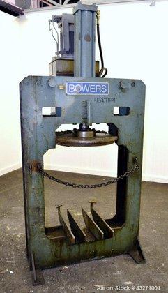Used- Bowers Process Equipment Tank