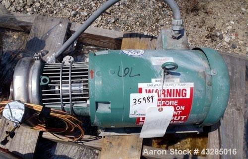 Used- Tri-Clover Pump, Model C216MDG21T-S-KX,