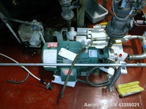 Used- Tri-Clover Centrifugal Pump, Model