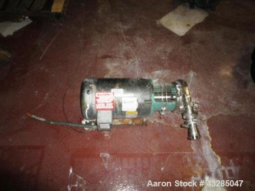 Used- Tri-Clover Centrifugal Pump, Stainless
