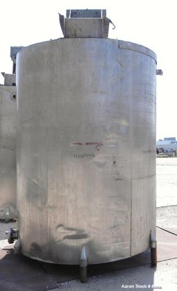 Used- Kettle, 3000 Gallon, 304
