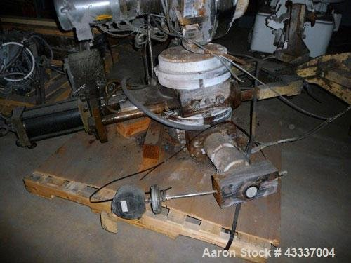 Used- Beringer Hydraulic Slide Plate