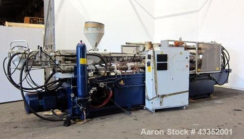 Used- Krauss Maffei Horizontal Injection