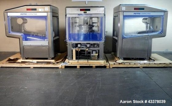 Used- Fette Rotary Tablet Press,