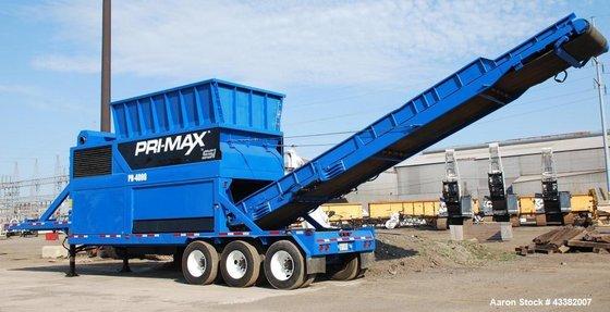 Used- SSI Shredder, Primax PR-4000,