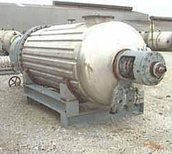 Used- Giovanola Rotary Vacuum Dryer,