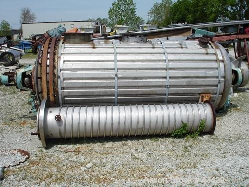 Used- Vevey Rotary Vacuum Dryer.