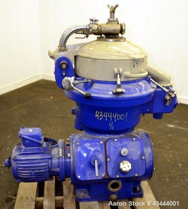 Used- Delaval-Alfa Laval MAPX-207 Desludger