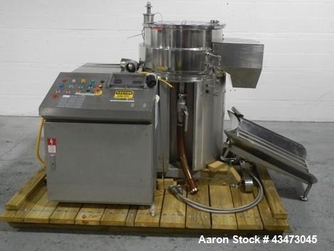 Used- Caleva Spheronizer, Model 700,