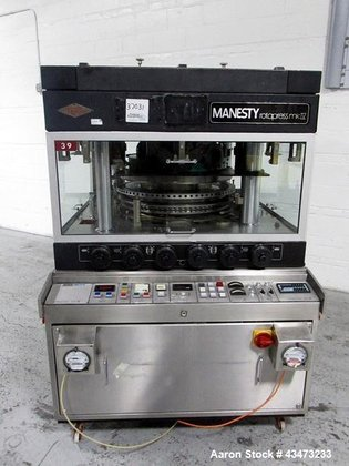 Used- Manesty Rota Press Rotary