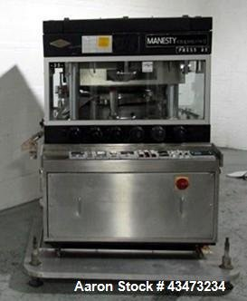 Used- Manesty Rotary Tablet Press,