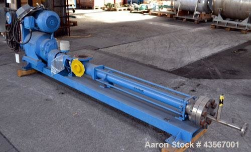Used- Bornemann Progressive Cavity Pump,