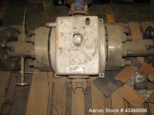 Used- MAAG Gear Pump Body.