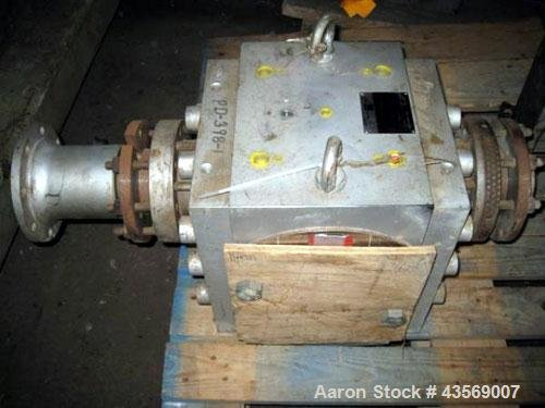 Used- MAAG Gear Pump Body,