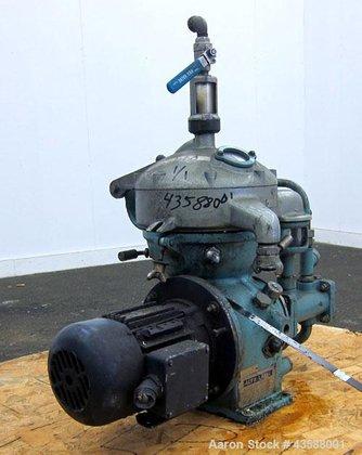 Used- Alfa Laval MAB-103B-24 Solid