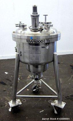 Used- Allegheny Bradford Pressure Tank,