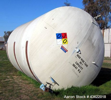 Used- Carbon Steel Storage Tank,