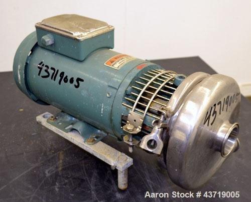 Used- Tri-Clover Centrifugal Pump, Model