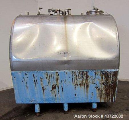 Used- Tank, 2700 Gallon, 304