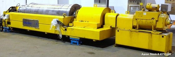 Used- Sharples DS-706 Super-D-Canter Centrifuge