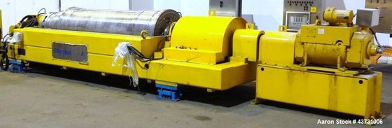 Used- Sharples DS-706 Super-D-Canter Centrifuge