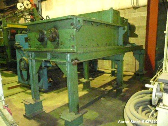 Used- Eidal Dual Rotor Shredder.