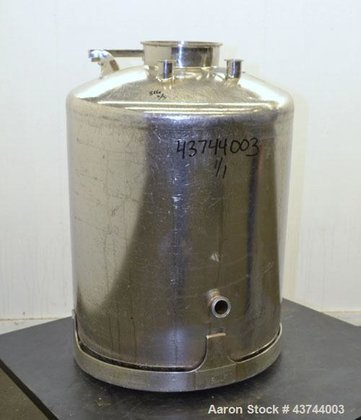 Used- Apache Stainless Pressure Tank,