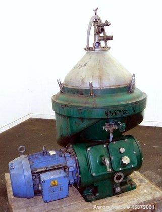 Used- Alfa-Laval MAPX-313-TGT-24-60 Desludger Disc