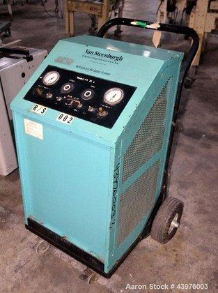 Used- Van Steenburgh Refrigerant Recovery