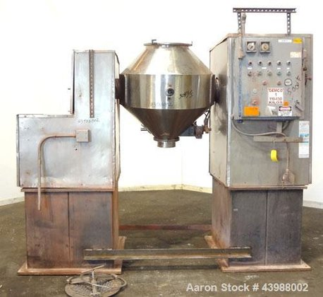 Used- Gemco Double Cone Blender,