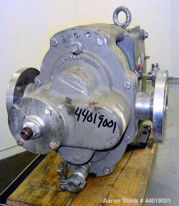 Used- Waukesha Universal Industrial Rotary