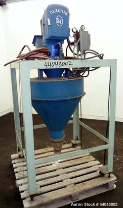 Used- DeZurik Mass Rate Meter,