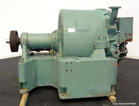 Used- Sharples C-41 Super-D-Hydrator Peeler