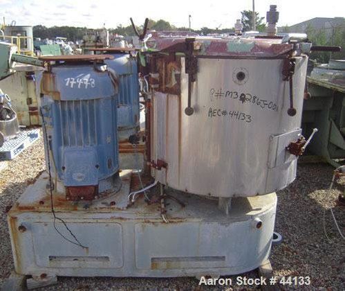 Used- Henschel High Intensity Mixer,