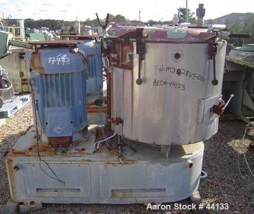 Used- Henschel High Intensity Mixer,