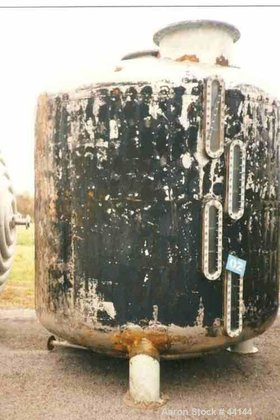 Used- Tank, 2500 Gallon, Stainless