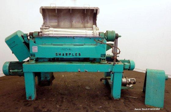 Used- Sharples P-3400 Super-D-Canter Centrifuge.