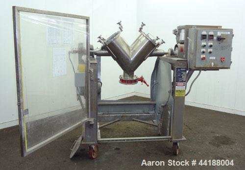 Used- Gemco Twin Shell Blender,