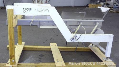 Used- Smalley Vibratory Conveyor, 304