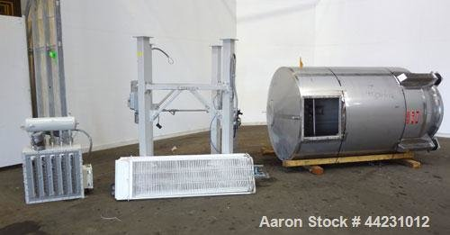 Used- AZO Hopper, Approximate 120