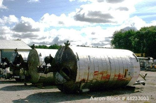 Used- Kettle, 4000 Gallon, Carbon