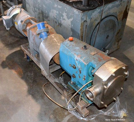 Used-Triclover Model TSR5NLD-30MFUOCL-AO centrifugal pump.
