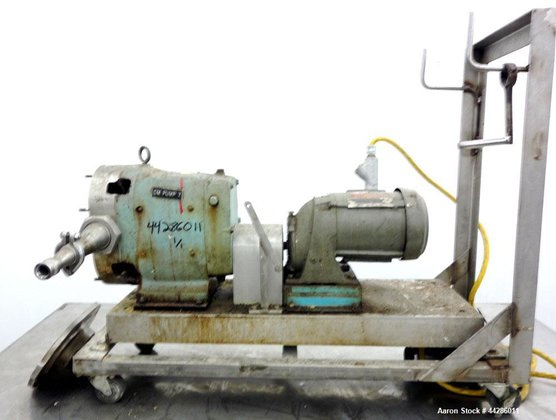 Used- Waukesha Rotary Positive Displacement