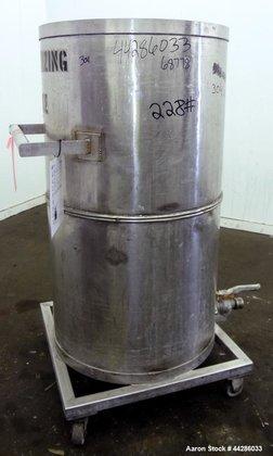 Used- Tank, 150 Gallon, 304