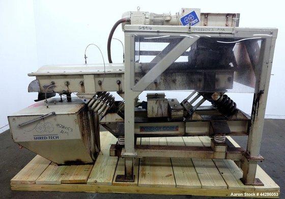 Used- Shred Tech Twin Shaft