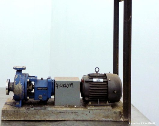 Used- Werner Pump Company Centrifugal
